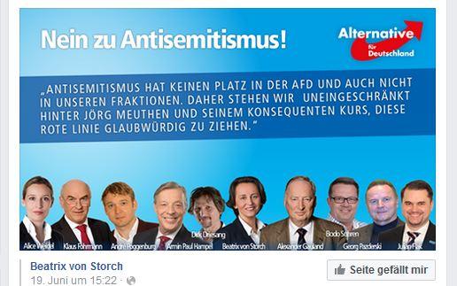 AfD gegen Antisemitismus