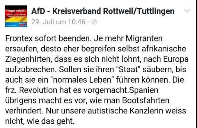 AfD-KV Rottweil/Tuttlingen Zitat