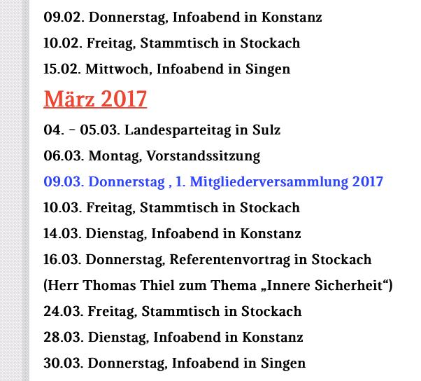 AfD Konstanz Terminplan