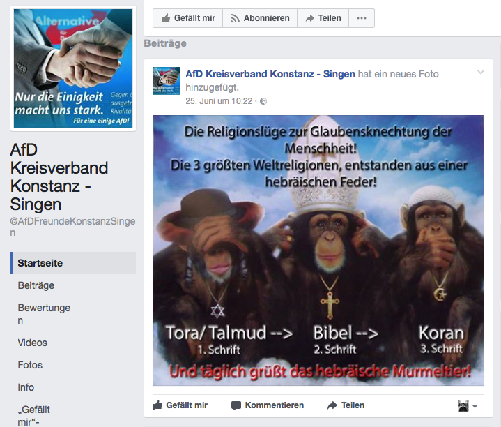AfD Konstanz-Singen vs. Hebräer