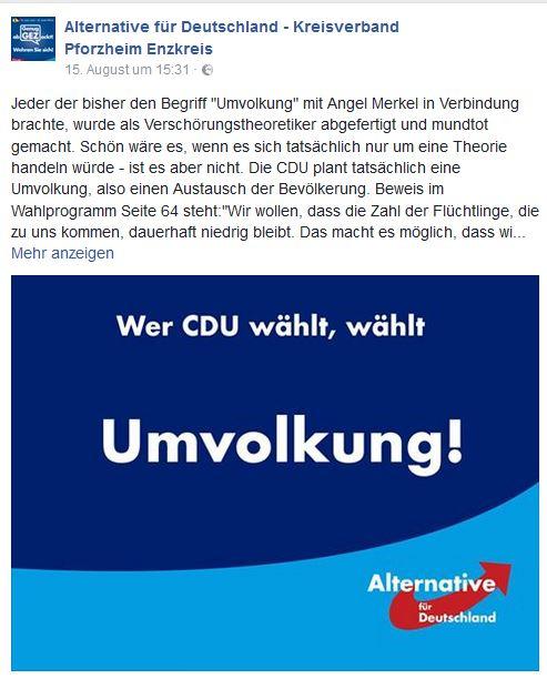 AfD Pforzheim warnt vor