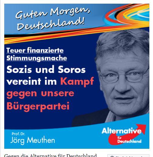 Meuthen vs. Soros