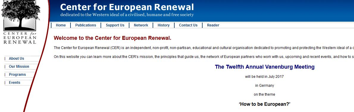 Center fpr European Renewal