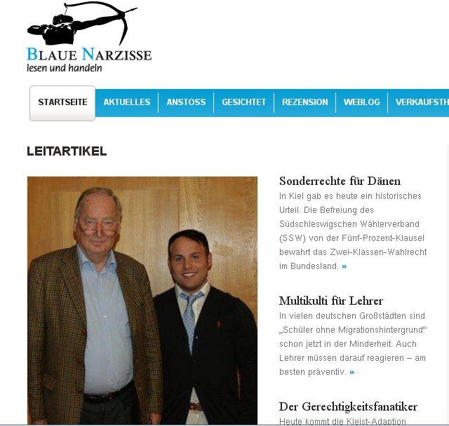 Frohnmaier Interview mit Blaue Narzisse