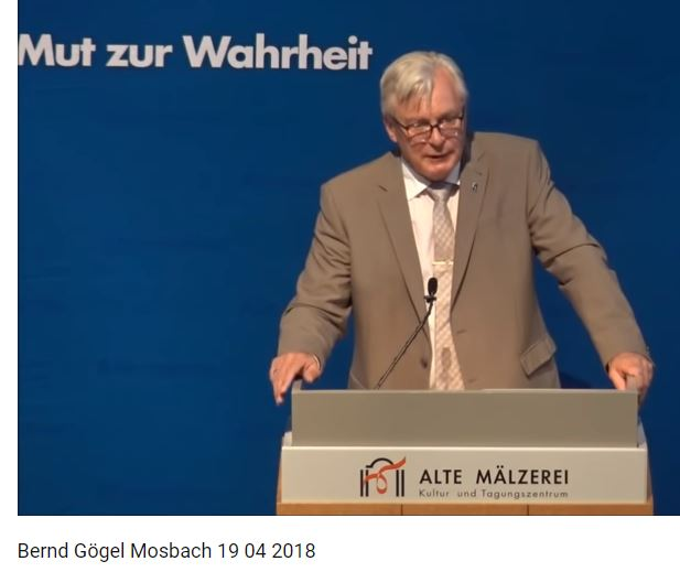 Bernd Gögel in Mosbach