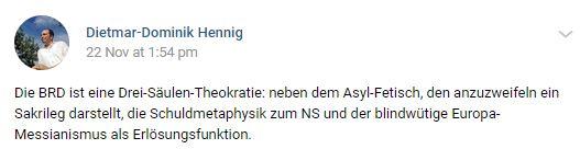 Dietmar-Dominik Hennig auf vk.com