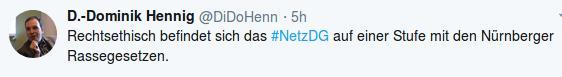 Hennig banalisiert NS-Judenverfolgung
