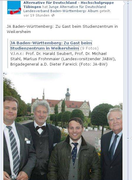 FRohnmaier beim Studienzentrum Weikersheim