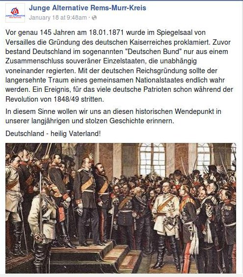 JA Rems-Murr Reichsgruendung
