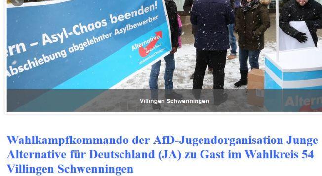 AfD-/JA-Wahlkampfkommando