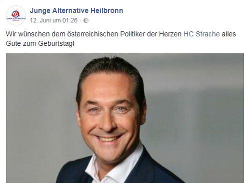 JA Heilbronn pro Strache