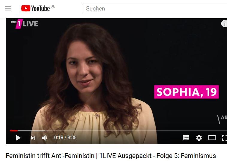 Kähm Antifeministin