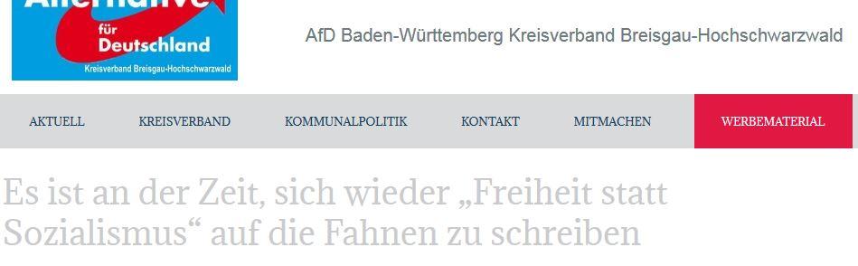 Kempf: Freiheit statt Sozialismus!