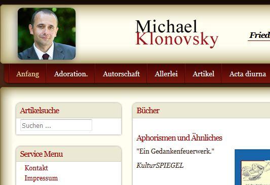 Klonosvsky Homepage