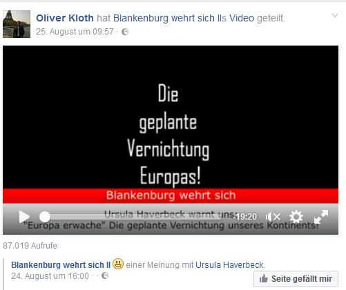 Oliver Kloth repostet Haverbeck