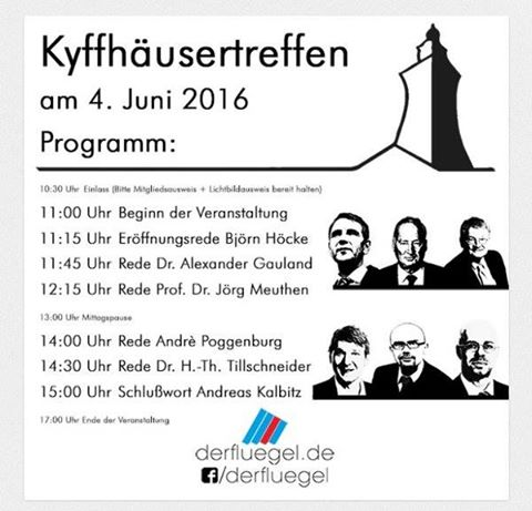 Kyffhäuser-Treffen 2016