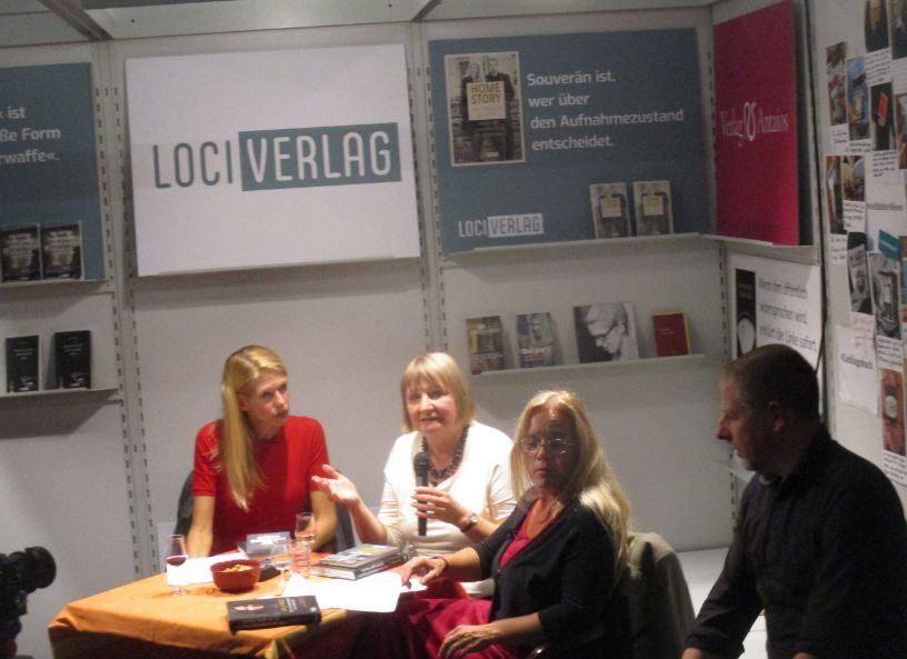 Kubitschek, Kositza auf Frankfurter Buchmesse