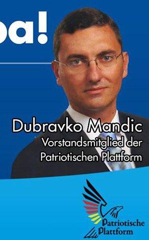 Mandic als PP-Mitglied