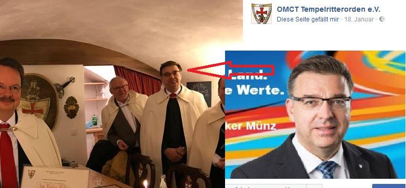 Volker Münz als OMCT-Mitglied