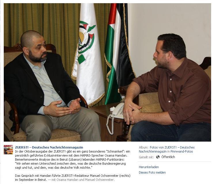 Ochsenreiter und Hamas