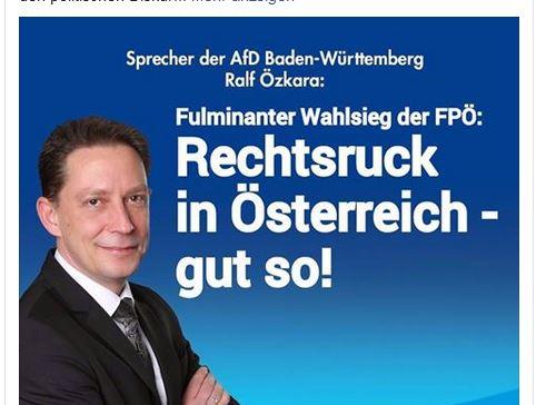 Özkara gratuliert FPÖ