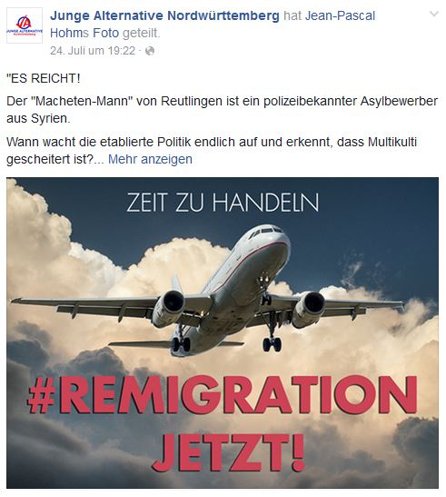 Remigration by JA Nordwürttemberg