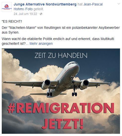 Remigration by JA Nordwürttemberg