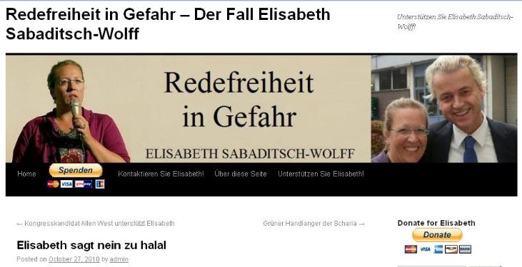 (Screenshot vom Blog von Sabaditsch-Wolf)