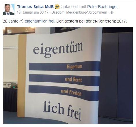 Seitz, Thomas auf ef-Kongress 2018