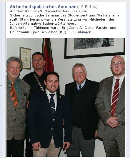 AfD bei Sicherheitspolit. Seminar von Weikersheim