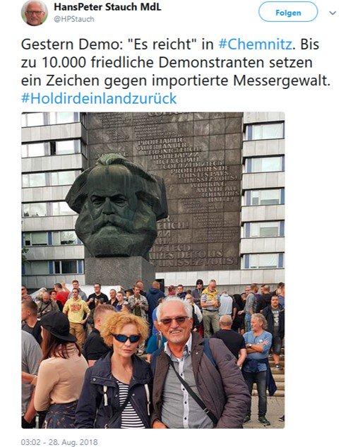 Hans Peter Stauch in Chemnitz I