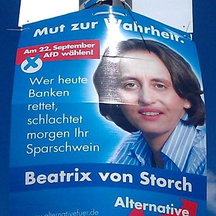 Beatrix von Storch als AfD-Kandidatin