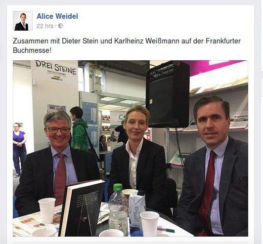 Weidel für JF auf Frankfurter Buchmesse 2016