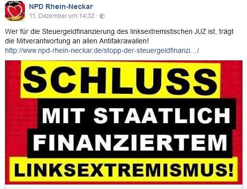 NPD vs. JuZ Mannheim